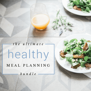 LIMITED TIME: The Ultimate Healthy Meal Planning Bundle