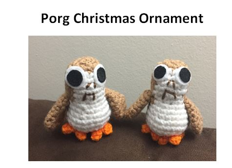 Porg pattern cover image