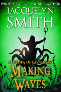 Legends of Lasniniar Making Waves cover