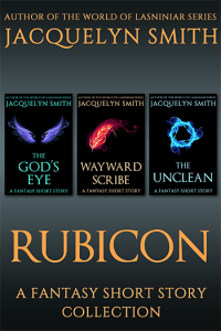 Rubicon fantasy short story collection cover