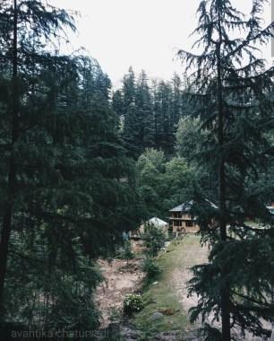 mudhouse hostel jibhi near serolsar lake trek