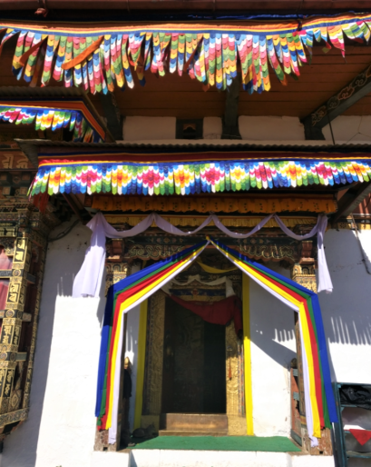 chimi lhakhang monsatery in sopsokha in punakha bhutan