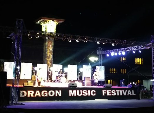Dragon Music Festival at CLock Tower Square in Thimphu, Bhutan