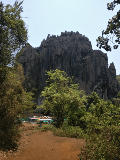 yana caves near gokarna in karnataka