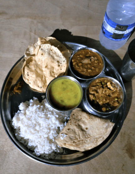 traditional marathi local food at velas turtle festival