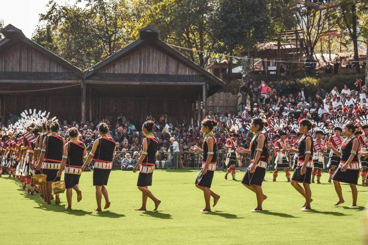 angami tribe nagaland hornbill festival