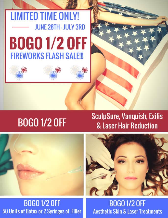 BOGO 1/2 OFF Fireworks FLASH SALE!  Limited Time Only!