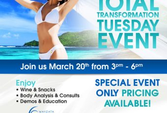 Total Transformation Tuesday Event!
