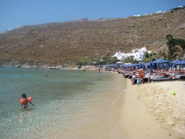 Praia de Psarou (lado direito)