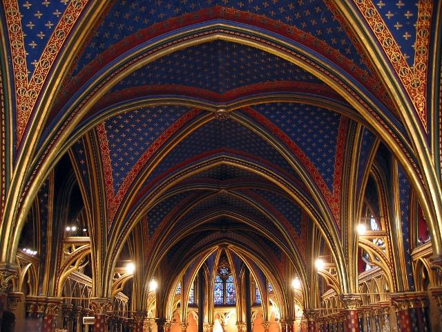 Igreja Saint Chapelle (foto:www.sacred-destinations.com)