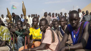 South Sudan White Army members