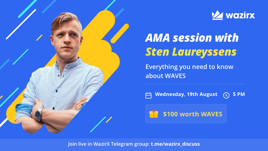 AMA Session with Sten Laureyssens for Waves