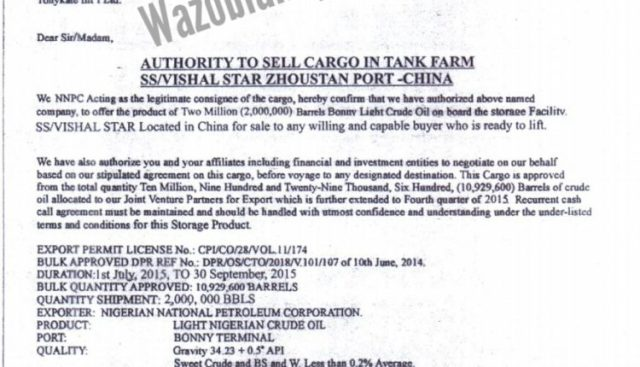 Whistle Blower In Connection With How Abba Kyari, Lawal Daura, Akpabio Stole, Sold 48m Barrels Of Crude Oil In China Threatens Court Action {Documents}