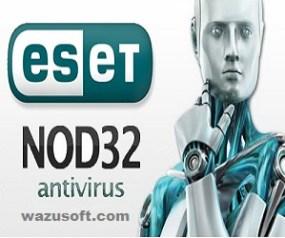 ESET NOD32 Antivirus Crack wazusoft.com