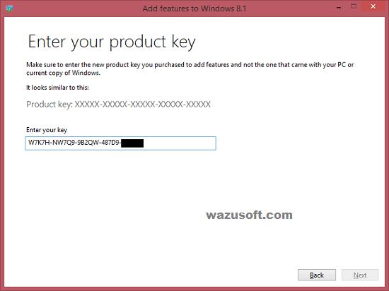 Windows 8.1 Product Key