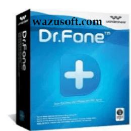 Wondershare Dr.Fone Crack 2022 wazusoft.com