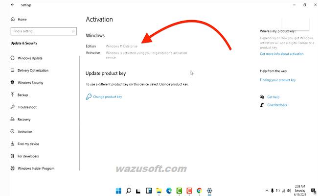 Windows 11 Activator Crack 2022 wazusoft.com