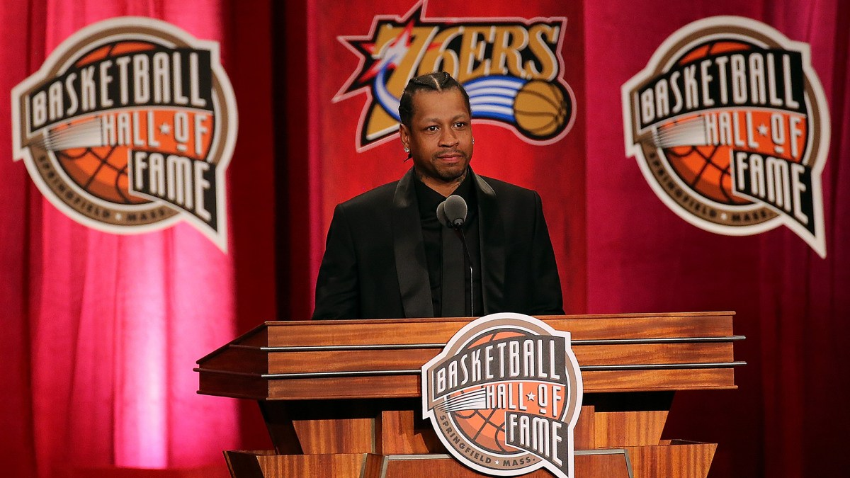SPORTS NEWS: ALLEN IVERSON INDUCTED INTO BASKETBALL HALL OF FAME!!!
