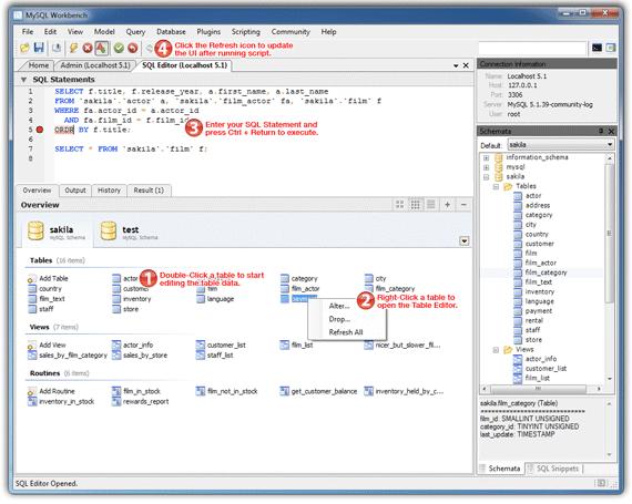 MySQL Workbench 5.2 Quick-Start Tutorial – The MySQL Workbench Developer Central Site