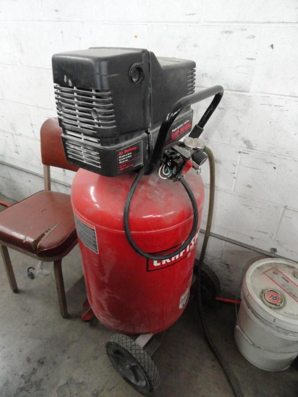 Lot #43 Craftsman 30 Gallon 6hp Gas Electric Air