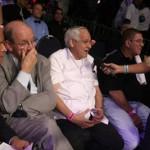 Francisco Piña, Gonzalo López Silvero y Gilberto Mendoza