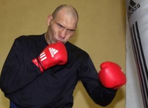 Valuev training camp