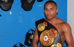 LIBORIO SOLIS WBA WORLD CHAMPION