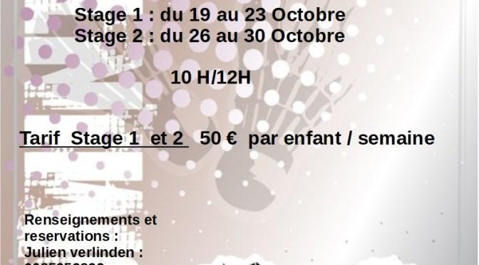 Stage toussaint 2020