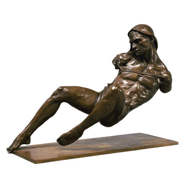 Christophe Charbonnel Esclave Ii Bronze Fine Sculpture