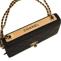 Chanel Black Quilted Lambskin Trendy CC Wallet On Chain ...