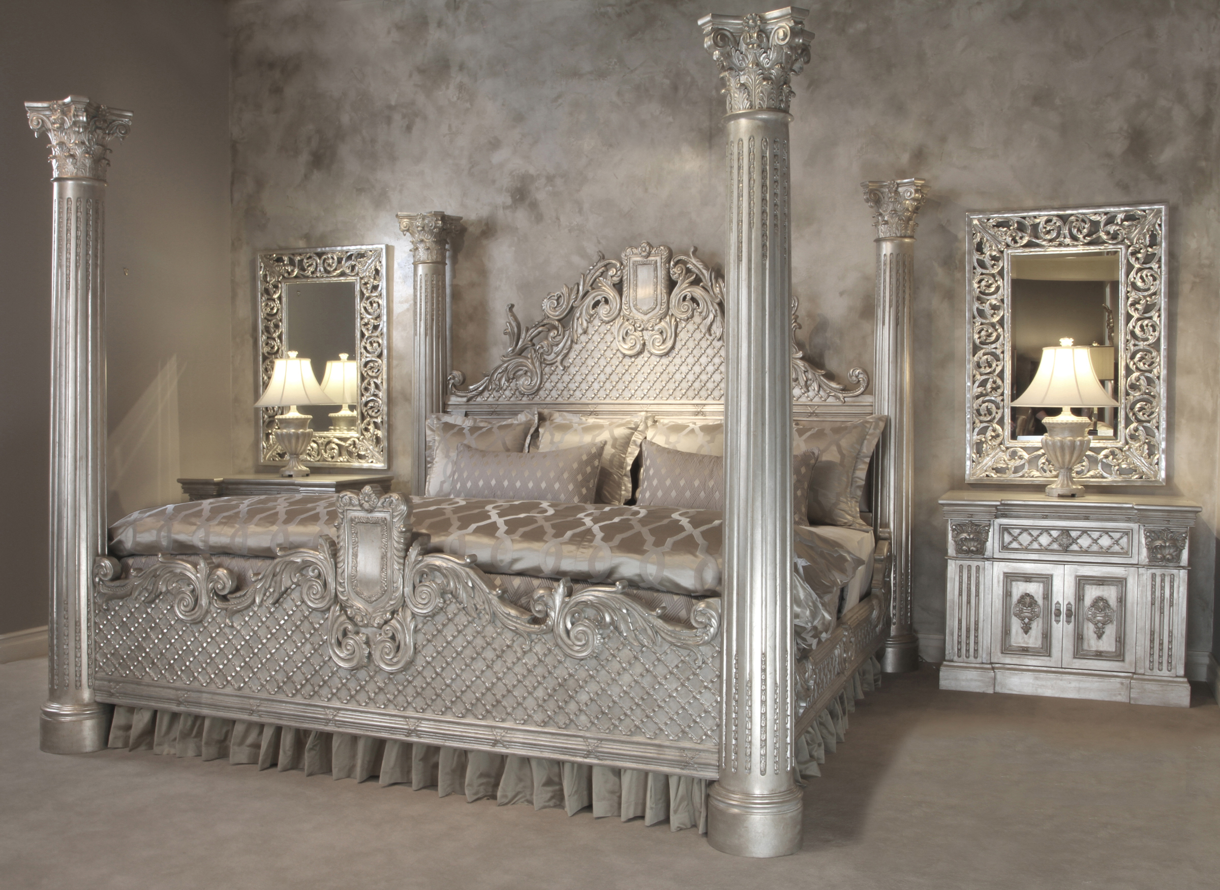 Grand Venetian Bed California King  Worlds Best