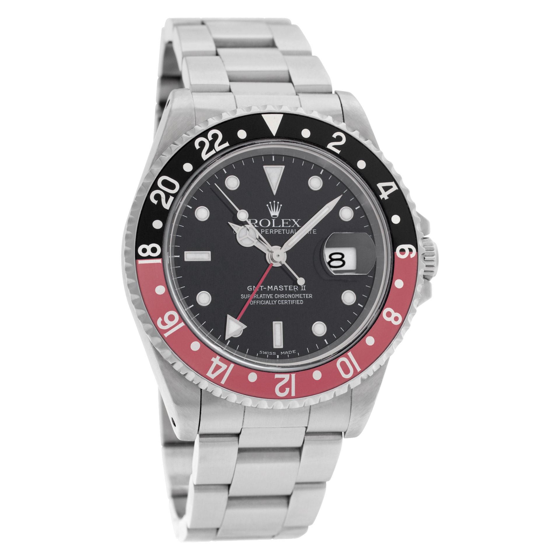 Rolex GMT-Master II 16710 Stainless Steel Watch | World's Best