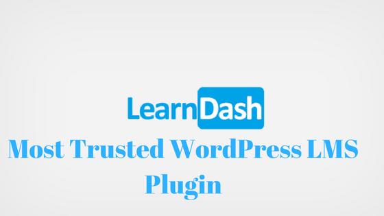 LearnDash-Most Trusted WordPress LMS Plugin