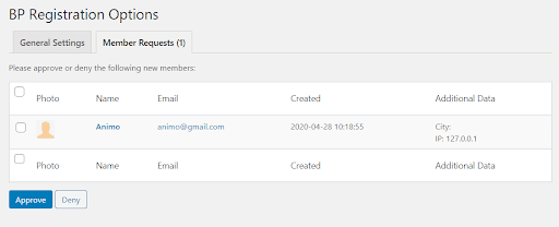 BuddyPress Registration Options Plugin Review