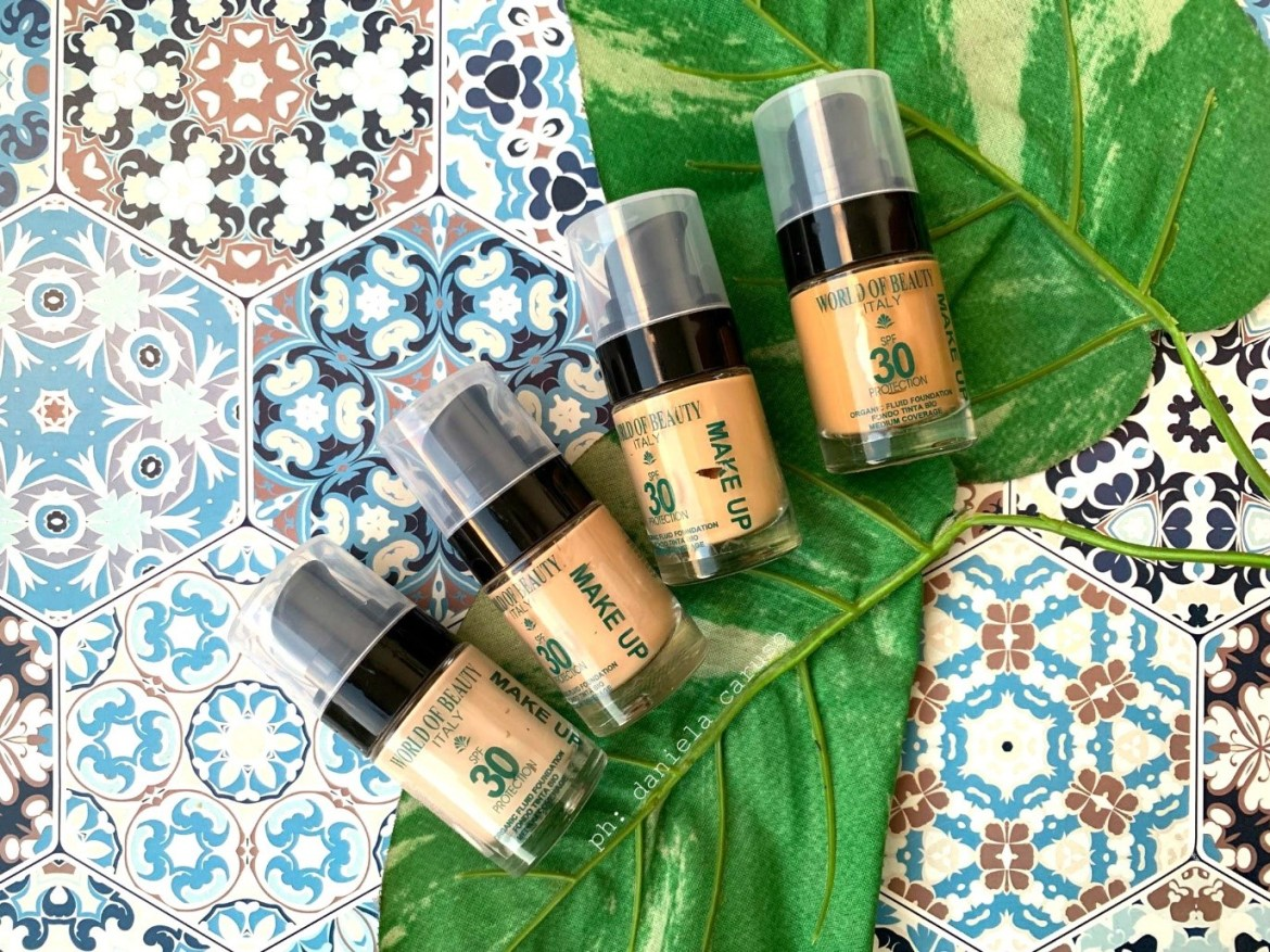 A perfect complexion with World of Beauty organic foundations