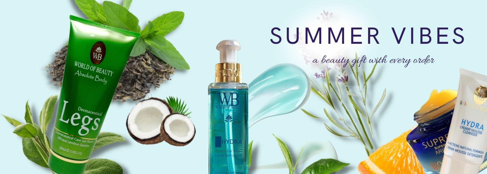 summer vibes beauty gift