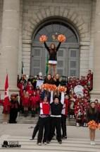 Queens University Cheer Squad