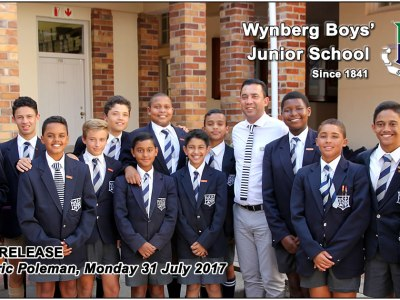 WBJS Press Release, Monday 31 July 2017