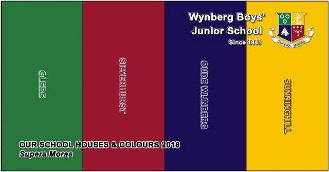 WBJS New House Names & Colours for 2018