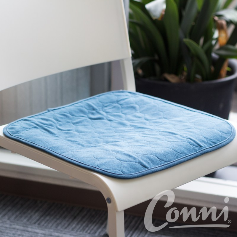 Conni chairpad XS tealblue square1500