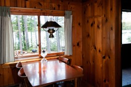 Cabin One: Dining Room