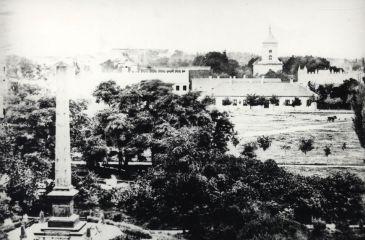 Plac Litewski. Pomnik Unii Lubelskiej, fot. Wanda Chicińska, 1874.