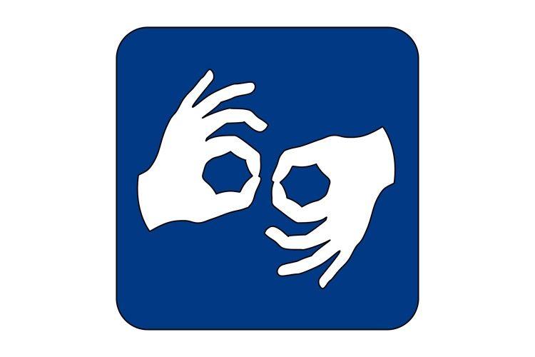 Logo Polskiego Języka Migowego