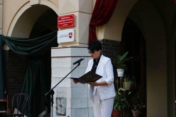 Bożena Ćwiek - Dyrektor Departamentu Kultury, Edukacji i Dziedzictwa Narodowego Urzędu Marszałkowskiego w Lublinie