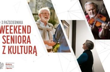 Weekend seniora z kulturą - plakat