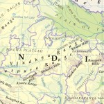 List Of Important Plateaus Mountain Ranges In India With Map