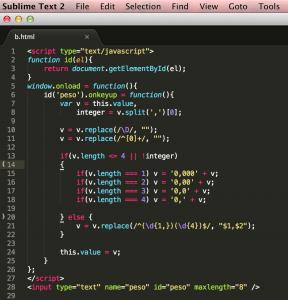 Código javascript não testável