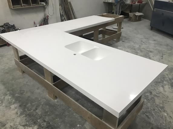 WANBEST Corian Solid Surface Countertop OEM Furniture