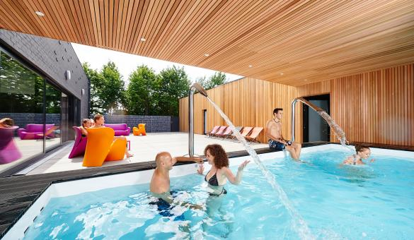 Aquacentre Lacs de lEau dHeure parc aquatique  wellness