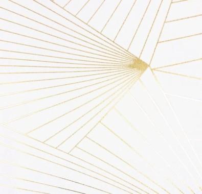 carta da parati a contrasto, inserite nel contesto come decorazioni da appendere. Carta Da Parati Bianca E Oro Bianca Linea Beige Modello Parallelo 140246 Wallpaperuse